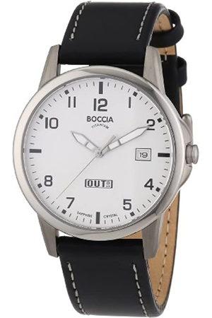 Boccia Hombre Relojes - 604-02 - Reloj de Caballero de Cuarzo