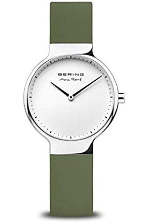 Bering Reloj Analógico Max René Collection para Mujer de Cuarzo con Correa en Silicona & Cristal de Zafiro 15531-800