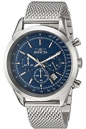 Invicta Hombre Relojes - 24209 Speedway Reloj para Hombre acero inoxidable Cuarzo Esfera azul