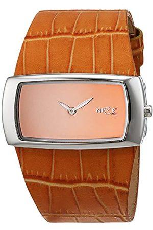 Nice Reloj analogico para Mujer de Cuarzo con Correa en Piel 5162/15