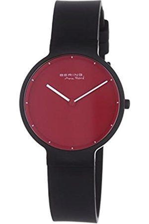 Bering Reloj Analógico Classic Collection para Mujer de Cuarzo con Correa en Silicona & Cristal de Zafiro 12631-823