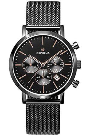 ORPHELIA Reloj Cronógrafo para Hombre de Cuarzo con Correa en Acero Inoxidable OR82802
