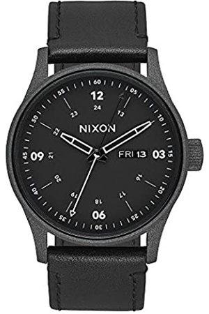 Nixon Reloj Analógico para Hombre de Cuarzo con Correa en Cuero A105-2949-00