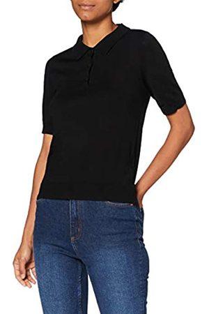 MERAKI Mujer Jerséis y suéteres - Jersey de Lana Merino Mujer, (Black), 40