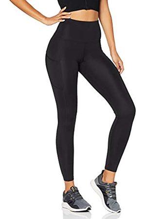 AURIQUE Mujer Leggings - Marca Amazon - Mallas para Correr con Tiro Alto Mujer (Black), 42