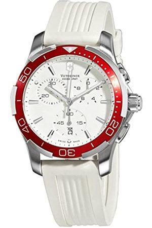 Victorinox Mujer Relojes - Swiss Army - Reloj cronógrafo de Cuarzo para Mujer con Correa de Caucho