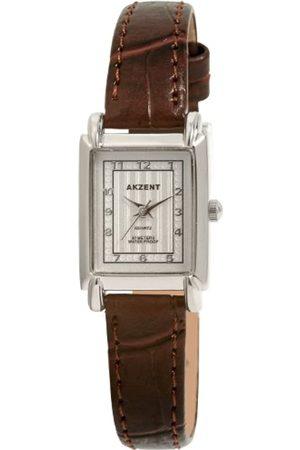 Akzent SS7322600020 - Reloj analógico de mujer de cuarzo con correa de piel - sumergible a 30 metros
