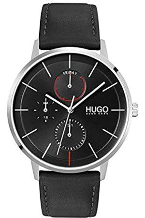 HUGO BOSS Hombre Relojes - RelojAnalógicoparaHombredeCuarzoconCorreaenPieldeBecerrodeCuero1530169