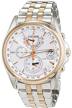 Citizen Hombre Relojes - Reloj Analógico para Hombre de Cuarzo con Correa en Acero Inoxidable FC0014-54A