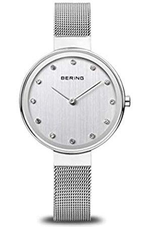 Bering Mujer Relojes - RelojAnalógicoparaMujerdeCuarzoconCorreaenAceroInoxidable12034-000