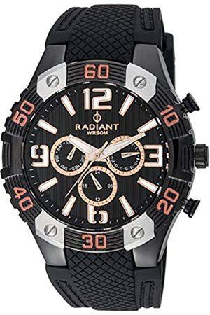 Radiant Hombre Relojes - Reloj Analógico para Hombre de Cuarzo con Correa en Caucho RA417603