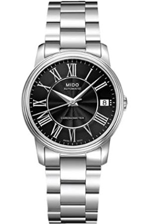 MIDO Hombre Relojes - RelojCronógrafoparaHombredeAutomáticoconCorreaenAceroInoxidableM010.208.11.053.00