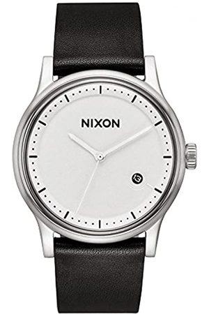 Nixon Reloj Analógico para Hombre de Cuarzo con Correa en Cuero A1161-2855-00