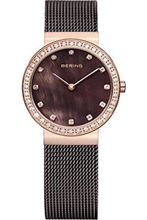 Bering Reloj Analógico para Mujer de Cuarzo con Correa en Acero Inoxidable 10729-262