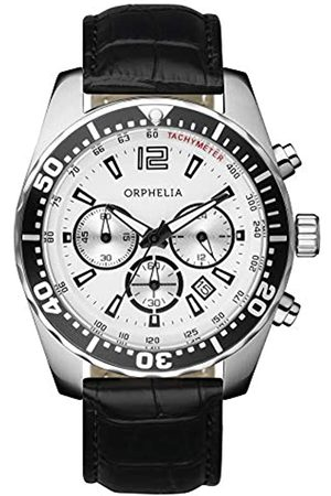 ORPHELIA Reloj cronógrafo para Hombre de Cuarzo con Correa en Piel OR53690014
