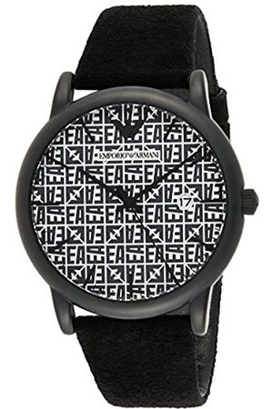 Emporio Armani Reloj para de Cuarzo con Correa en Cuero Genuino AR11274