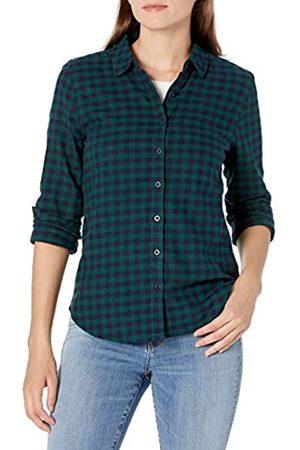 Goodthreads Brushed Flannel Drop-Shoulder Long-Sleeve Shirt Button-Down-Shirts