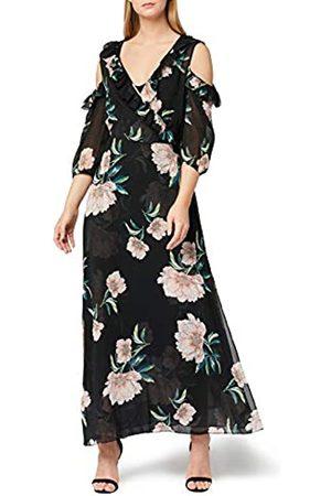 TRUTH & FABLE Marca Amazon - Vestido Largo de Flores Mujer, 38