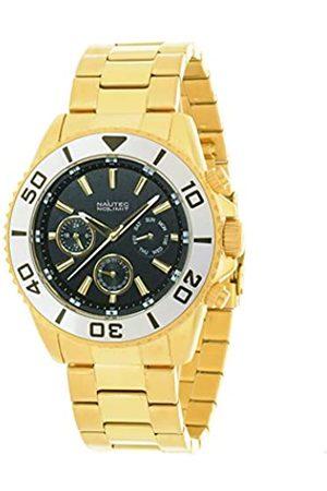 Nautec No Limit Hombre Relojes - NautecNoLimitRelojMultiesferaparaHombredeCuarzoconCorreaenAceroInoxidable129464