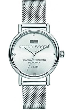 River Woods Reloj Analógico para Mujer de Cuarzo con Correa en Acero Inoxidable RW340036