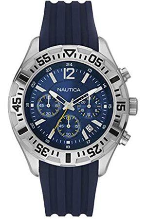 Nautica Hombre Relojes - RelojAnalógicoparaHombredeCuarzoconCorreaenSilicona8434103078673
