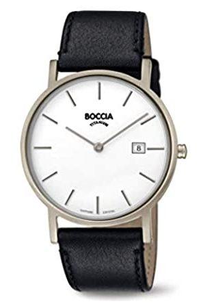 Boccia Hombre Relojes - Reloj Analógico para Hombre de Cuarzo con Correa en Cuero 404TT363702