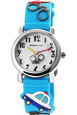 Excellanc Reloj de Pulsera Unisex analógico de Cuarzo y Caucho 407030000011