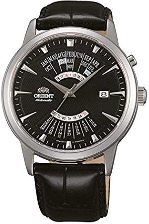 Orient Hombre Relojes - Reloj Analógico para Hombre de Automático con Correa en Cuero FEU0A004BH