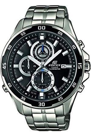 Casio Hombre Relojes - EDIFICE Reloj en caja sólida, 10 BAR, para Hombre, con Correa de Acero inoxidable