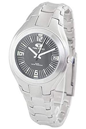 TIME FORCE Hombre Relojes - TimeForceRelojAnalógicoparaHombredeCuarzoconCorreaenAceroInoxidableTF2582M-01M