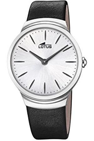 Lotus Hombre Relojes - Reloj Análogo clásico para Hombre de Cuarzo con Correa en Cuero 18498/1