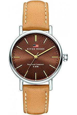 River Woods Mujer Relojes - Reloj Analógico para Mujer de Cuarzo con Correa en Cuero RW340014