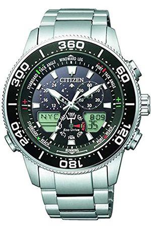 Citizen Hombre Relojes - Reloj para Hombre de Cuarzo con Correa en Acero Inoxidable JR4060-88E