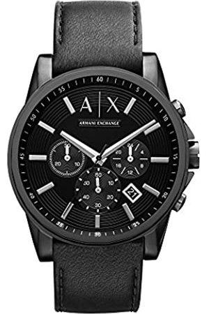 Armani Hombre Relojes - Reloj analogico para Hombre de Cuarzo con Correa en Acero Inoxidable AX2098