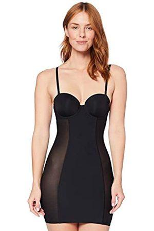IRIS & LILLY Mujer Ropa moldeadora - C28956-00 Camiseta modeladora (Black)