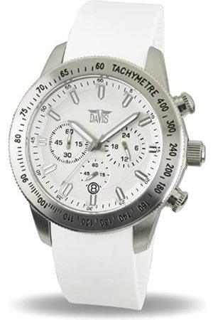 Davis Mujer Relojes - Reloj analógico para Mujer de Caucho