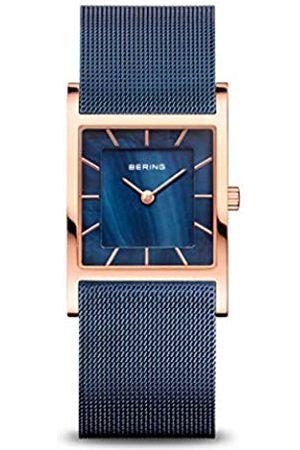 Bering Mujer Relojes - Reloj Analógico Classic Collection para Mujer de Cuarzo con Correa en Acero Inoxidable & Cristal de Zafiro 10426-367-S