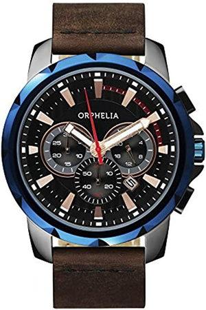 ORPHELIA Hombre Relojes - Reloj de Cuarzo Man 49 mm