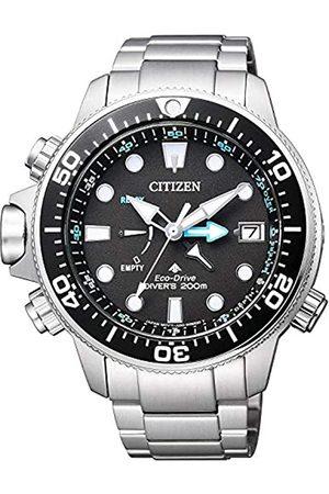 Citizen Hombre Relojes - Reloj Analógico para de los Hombres de Eco-Drive con Correa en Acero Inoxidable BN2031-85E