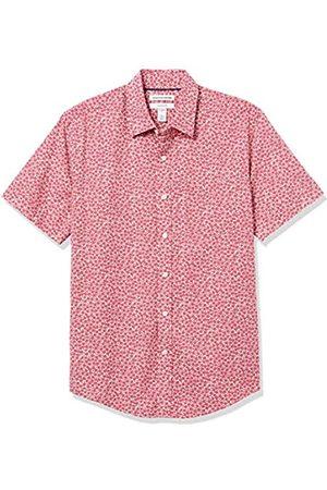 Amazon Slim-Fit Short-Sleeve Casual Poplin Shirt Button-Down-Shirts L