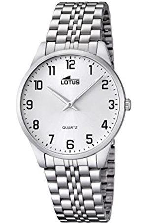 Lotus Hombre Relojes - 15883/1 - Reloj de Cuarzo para Hombre, con Correa de Acero Inoxidable