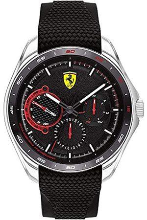 Scuderia Ferrari Reloj Analógico para Hombre de Cuarzo con Correa en Silicona 0830683