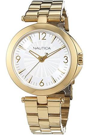 Nautica Mujer Relojes - Reloj Analógico para Mujer de Cuarzo con Correa en Acero Inoxidable 0656086079654