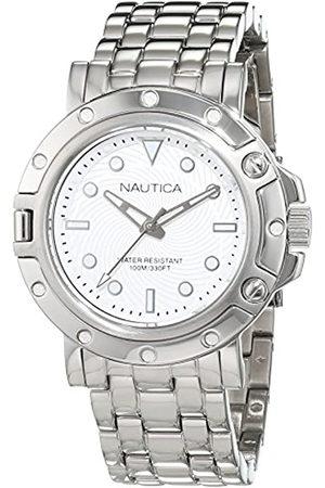 Nautica Reloj Analógico para Mujer de Cuarzo con Correa en Acero Inoxidable 0656086081213