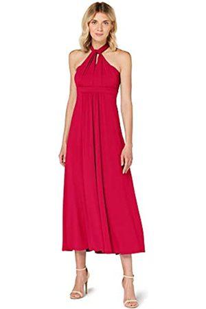 TRUTH & FABLE Mujer Casual - Marca Amazon - Vestido Maxi Mujer, 48