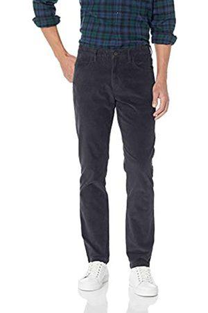 Goodthreads Marca Amazon - : pantalones pitillo de pana elásticos con 5 bolsillos para hombre (Grey Gre)