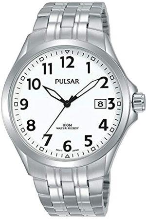 Seiko Hombre Relojes - Pulsar Reloj Analógico para Hombre de Cuarzo con Correa en Acero Inoxidable PS9627X1