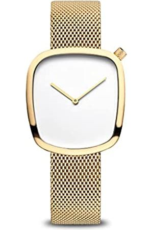 Bering Mujer Relojes - Reloj Analógico Classic Collection para Mujer de Cuarzo con Correa en Acero Inoxidable & Cristal de Zafiro 18034-334