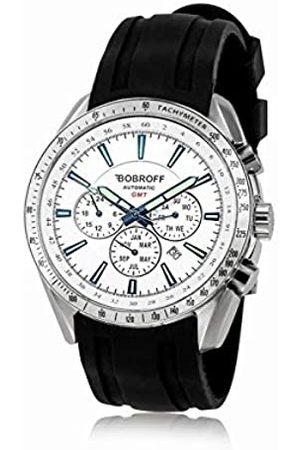 BOBROFF Reloj Analogico para Hombre Automatico con Correa En Caucho BF0015V2-S010