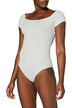 MERAKI Marca Amazon - Trajecito de Algodón Mujer, (Light Grey Marl), XL